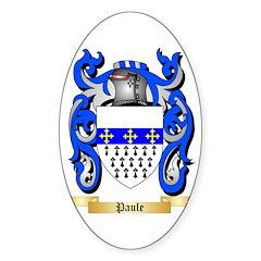 Paule Sticker (Oval 50 pk)