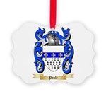 Paule Picture Ornament