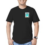 Patullo Men's Fitted T-Shirt (dark)
