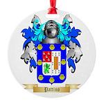 Pattino Round Ornament