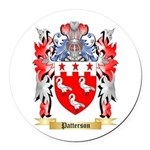 Patterson Round Car Magnet