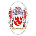 Patterson Sticker (Oval 50 pk)