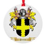Patten Round Ornament