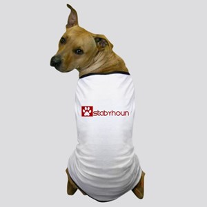 Stabyhoun (dog paw red) Dog T-Shirt
