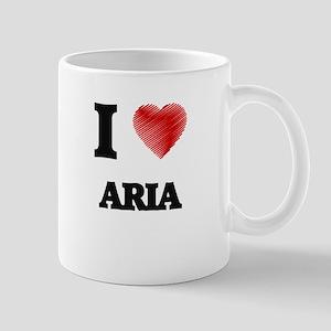 I Love Aria Mugs