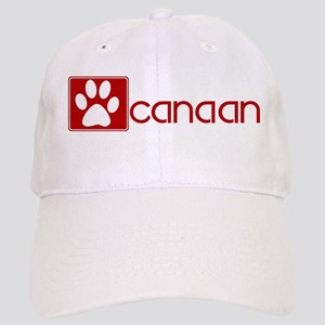 Canaan (dog paw red) Cap