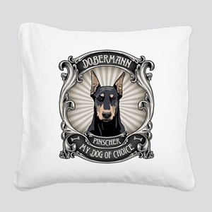 Dog of Choice III Square Canvas Pillow