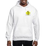 (kickstands Up Front/oval Back) Hooded Sweatshirt
