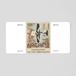 Vintage poster - Air-Orient Aluminum License Plate