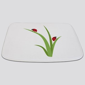 Ladybugs Bathmat