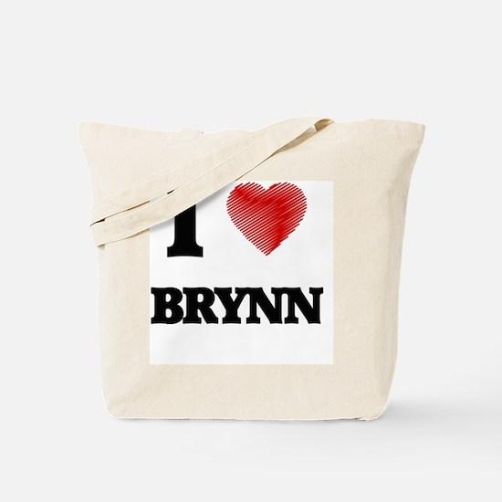 I Love Brynn Tote Bag