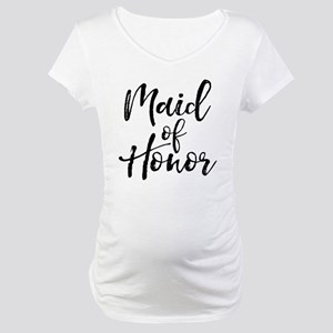 Maid of Honor Maternity T-Shirt