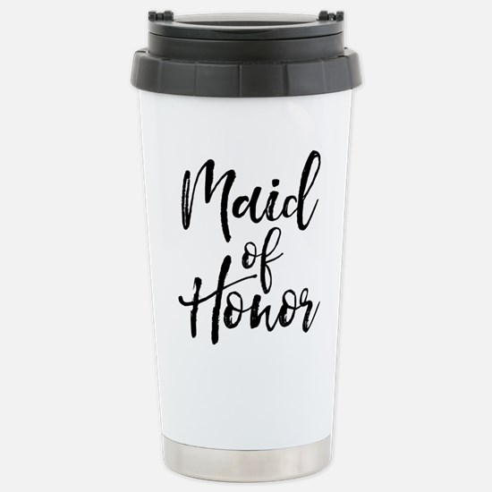 Maid of Honor Stainless Steel Travel Mug