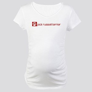 Jack Russell Terrier (dog paw Maternity T-Shirt