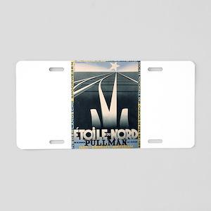 Vintage poster - Etoile du Aluminum License Plate