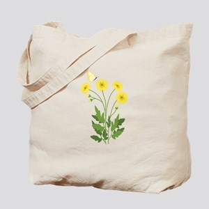 Buttercup Butterfly Tote Bag