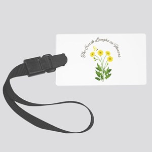 The Earth Laughs Luggage Tag