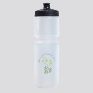 The Earth Laughs Sports Bottle