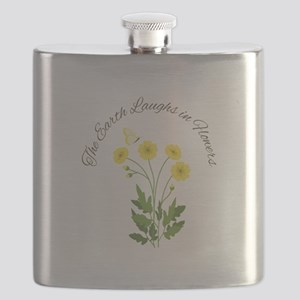 The Earth Laughs Flask