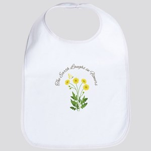 The Earth Laughs Bib