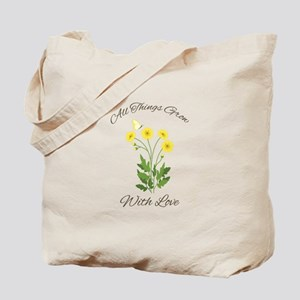 Grow With Love Tote Bag
