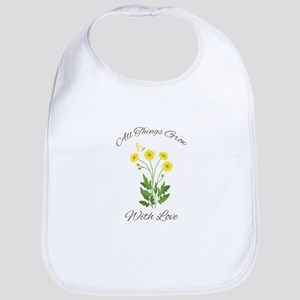 Grow With Love Bib