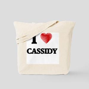 I Love Cassidy Tote Bag