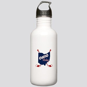 Ohio Hockey Stainless Water Bottle 1.0L