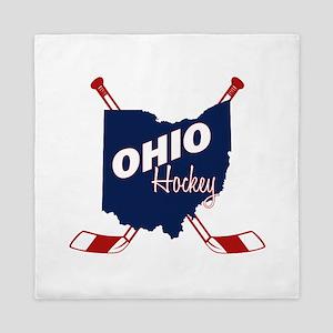 Ohio Hockey Queen Duvet
