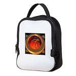 Red Raptor Logo Neoprene Lunch Bag