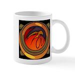 Red Raptor Logo Mugs