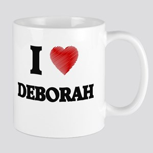 I Love Deborah Mugs