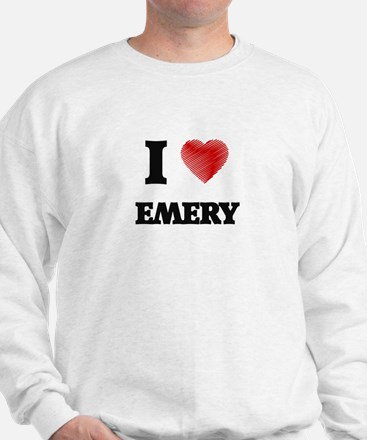 I Love Emery Sweatshirt