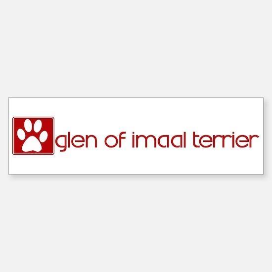Glen of Imaal Terrier (dog pa Bumper Bumper Bumper Sticker