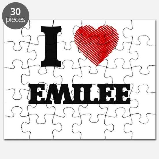 I Love Emilee Puzzle