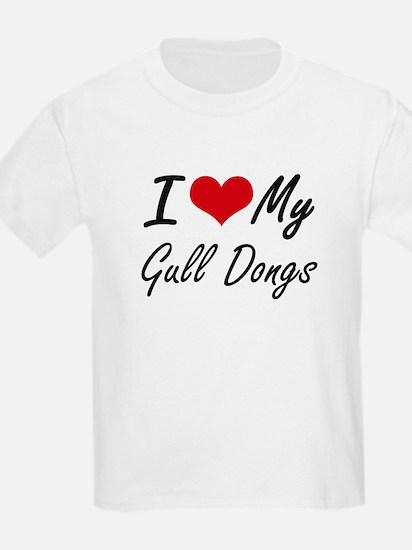 I Love My Gull Dongs T-Shirt
