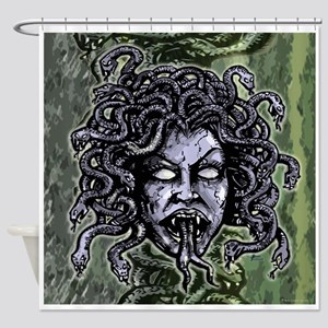 Head of Medusa Shower Curtain