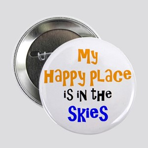 """happy place in skies 2.25"""" Button"""