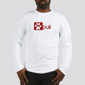 Puli (dog paw red) Long Sleeve T-Shirt