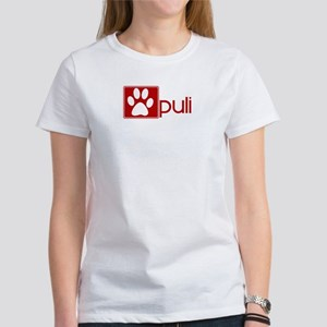 Puli (dog paw red) Women's T-Shirt