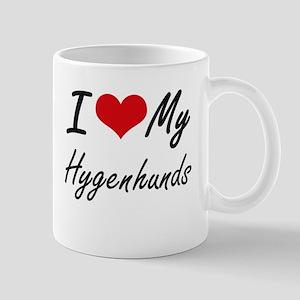 I Love My Hygenhunds Mugs