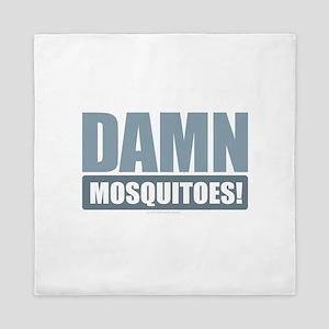 Damn Mosquitoes Queen Duvet