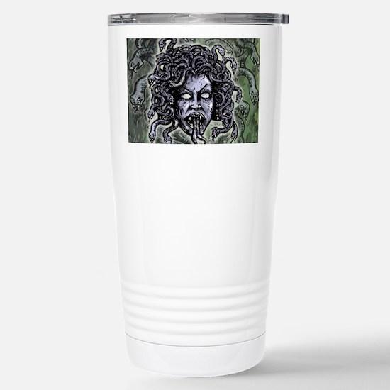 Head of Medusa Stainless Steel Travel Mug