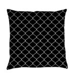 Chain Link Fence Everyday Pillow