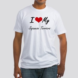 I Love My Japanese Terriers T-Shirt
