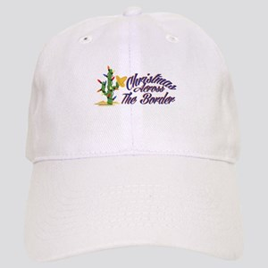 Christmas Across Border Baseball Cap