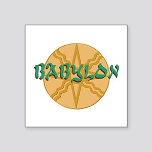Babylon Star Sticker