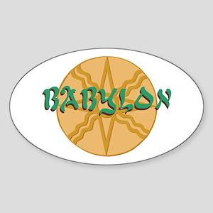 Babylon Star Sticker