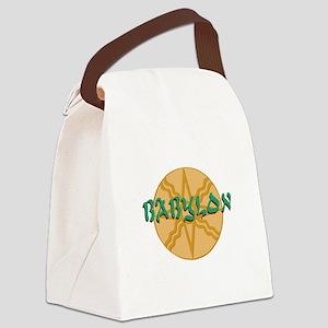 Babylon Star Canvas Lunch Bag