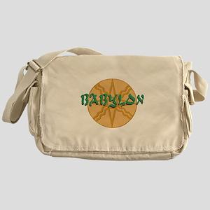 Babylon Star Messenger Bag